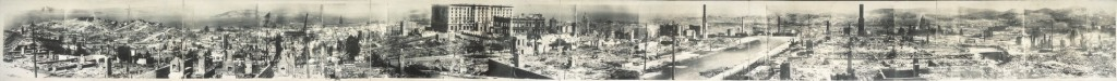 San Francisco 1906 earthquake damage