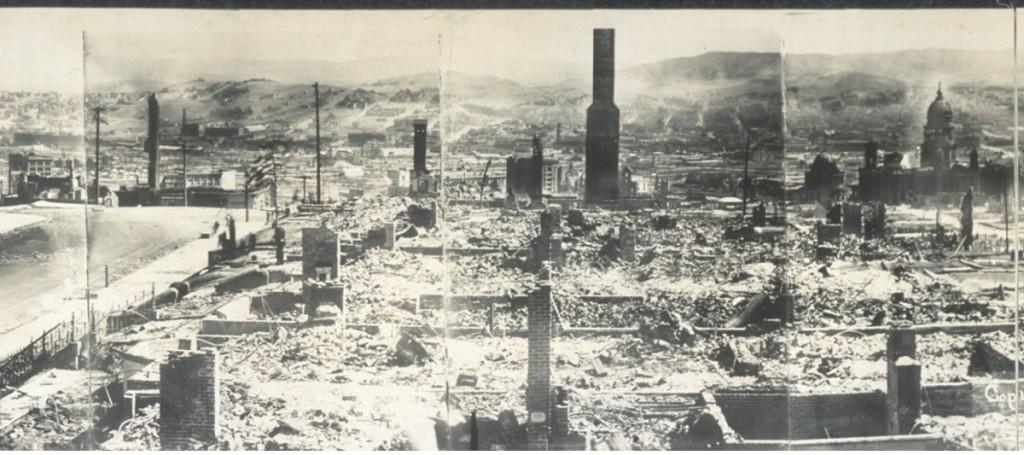 San Francisco 1906 earthquake damage 5
