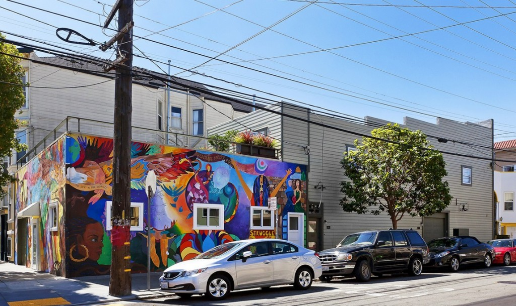 San Francisco mural home 2