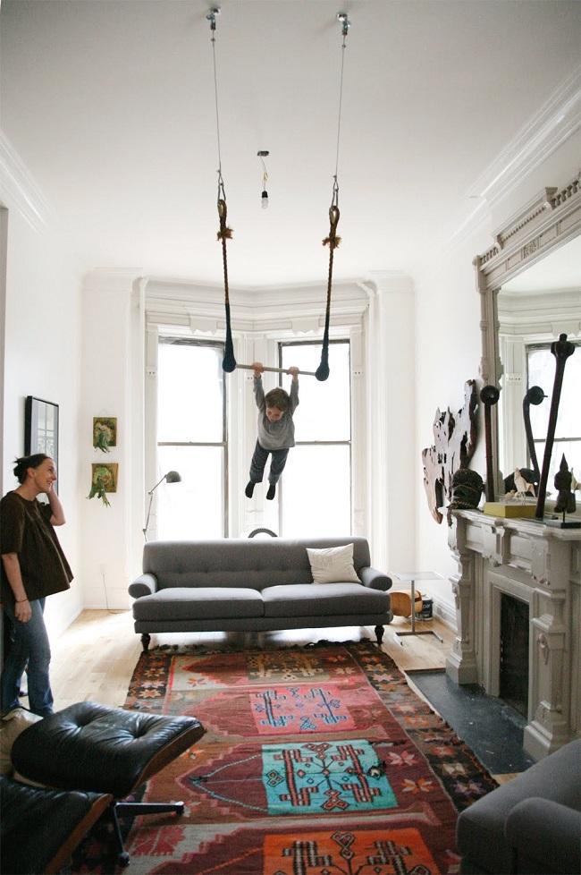 indoor trapeze