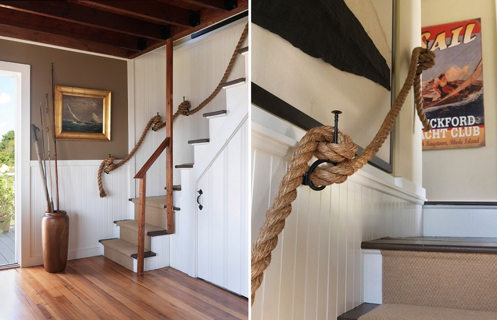 rope banister