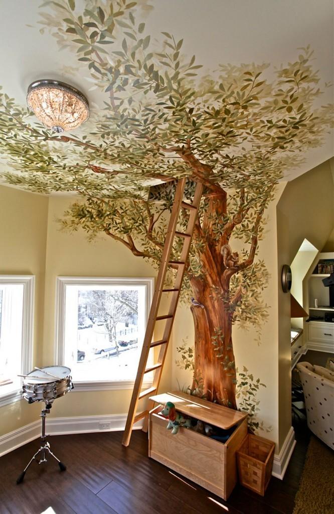 secret ladder room