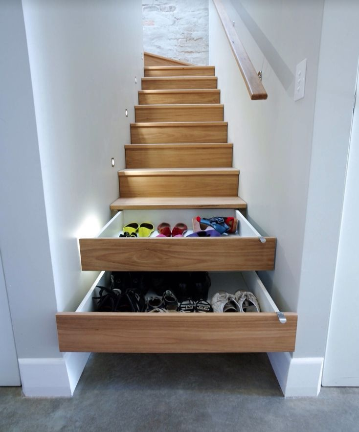 stairs drawers